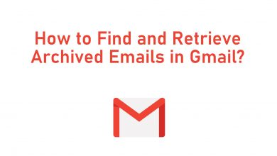 Find Archived Gmails