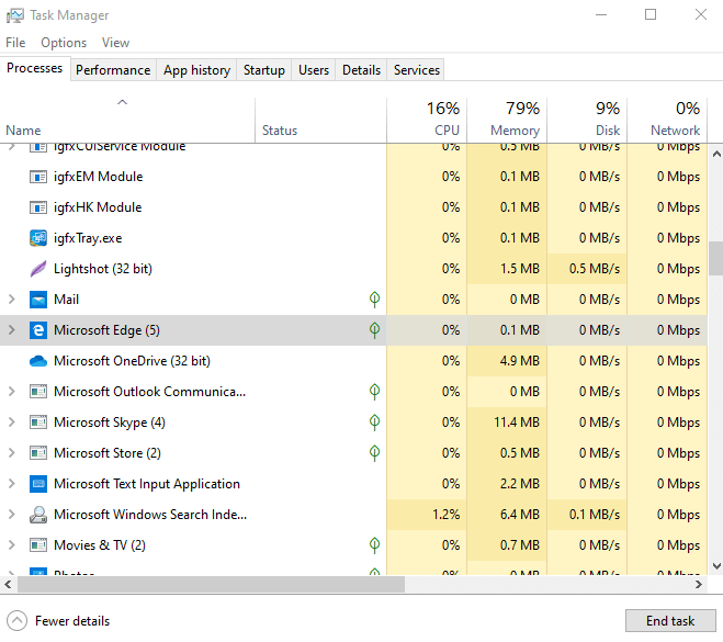 Force Quit or close a Program on Windows