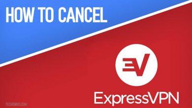 how to cancel expressvpn