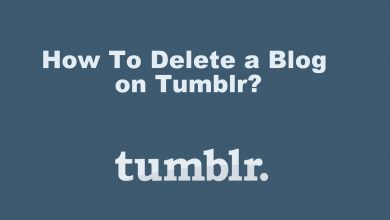 How To Delete a Blog on Tumblr