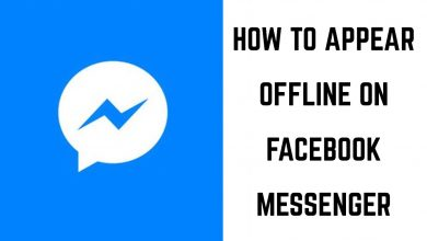 How to Appear Offline on Messenger-1