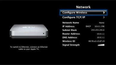 How to Connect Apple TV to WiFi