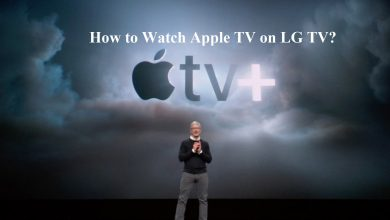 How to Watch Apple TV on LG TV-1