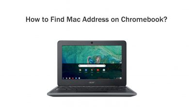 How to find mac address on Chromebook