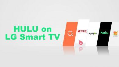 Hulu on LG TV