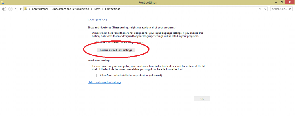 Install Fonts on Windows 10