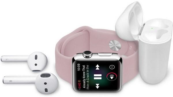 Listen to music on apple watch