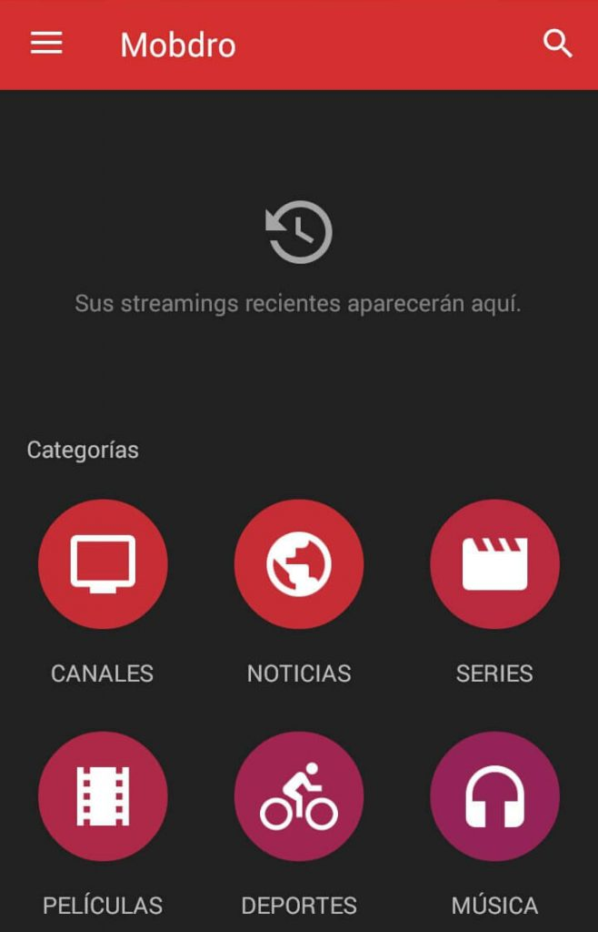 Mobdro on Android