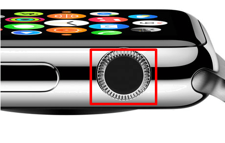 Digital crown - How to Listen to Music on Apple Watch without iPhone