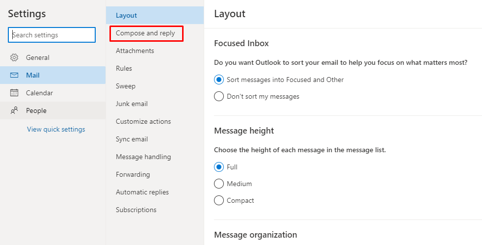Compose and reply - How to Recall an Email in Outlook