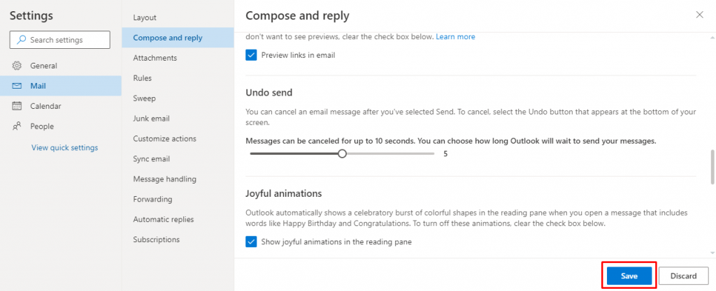 Save - How to Recall an Email in Outlook