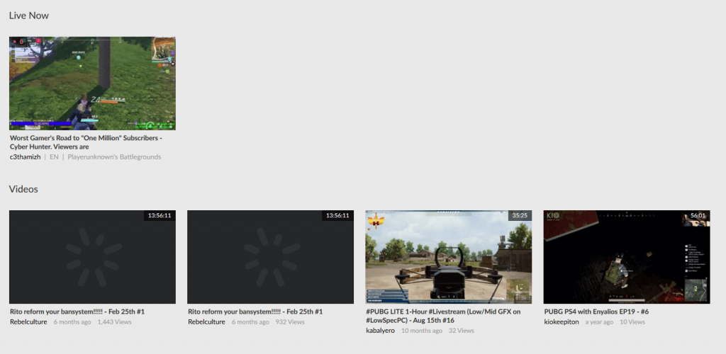 Smashcast - Twitch Alternatives