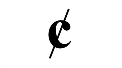 cent symbol on keyboard