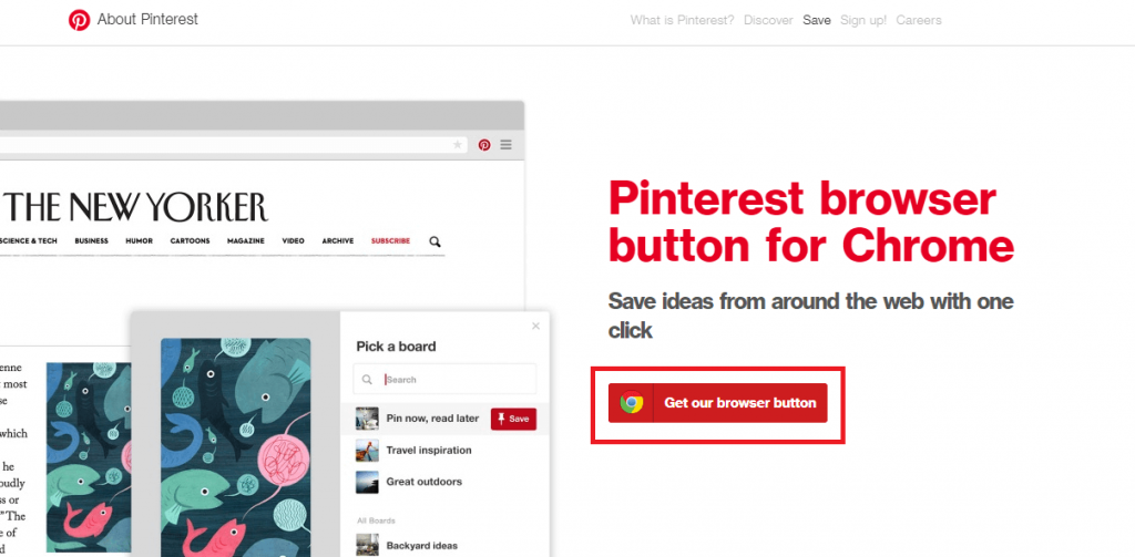 How to Add Pinterest Button