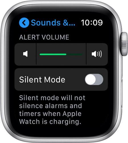 Adjust Volume to Change Notification Sound on Apple Watch