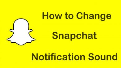 Change Notification Sound on Snapchat