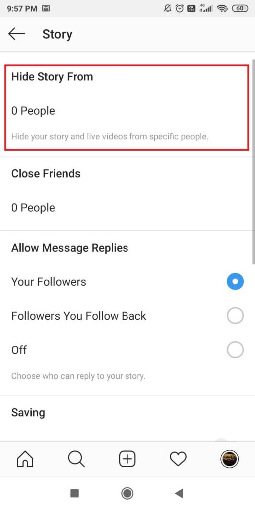 Change Privacy Settings on Instagram