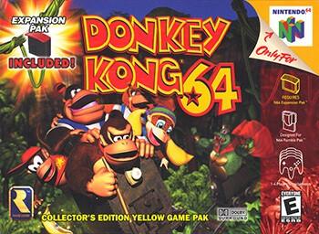 Donkey Kong 64 - Best Nintendo 64 Games