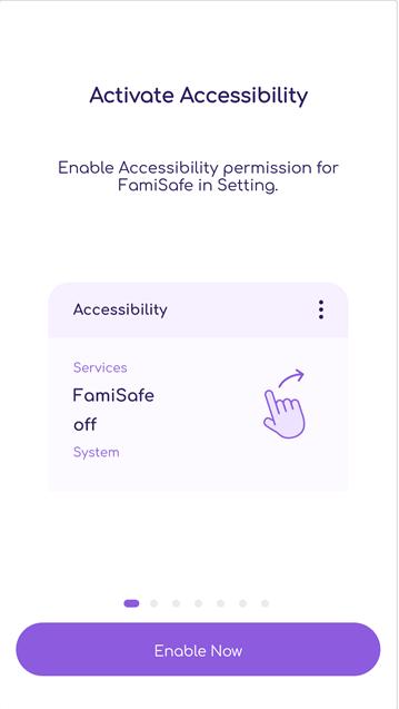 Enable FamiSafe