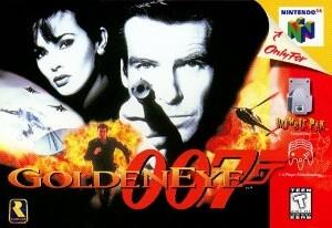 Golden Eye 007 - Best Nintendo 64 Games