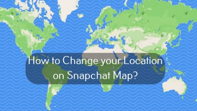 How to Change your Location on Snapchat Map