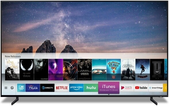Launch Netflix to to Change Netflix Profile on Samsung Smart TV