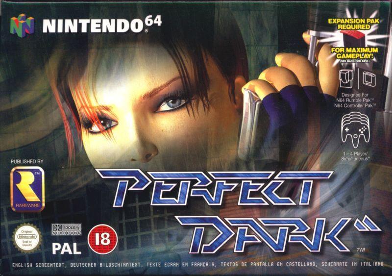 Perfect Dark - Best Nintendo 64 Games