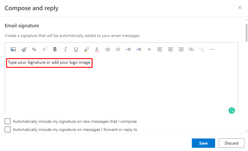 Add signature - How To Change Signature On Outlook