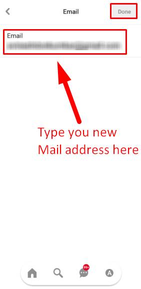 Change Email ID