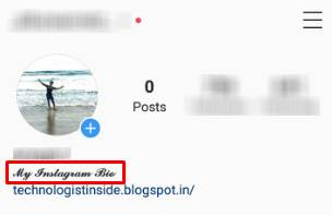 Change Instagram Bio Font