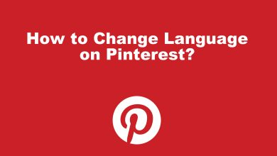 How to Change Language on Pinterest