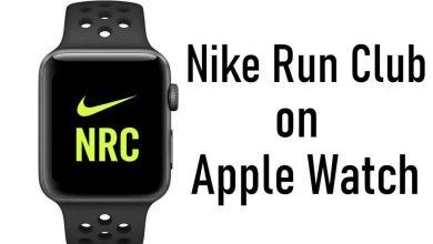nike run club on apple watch