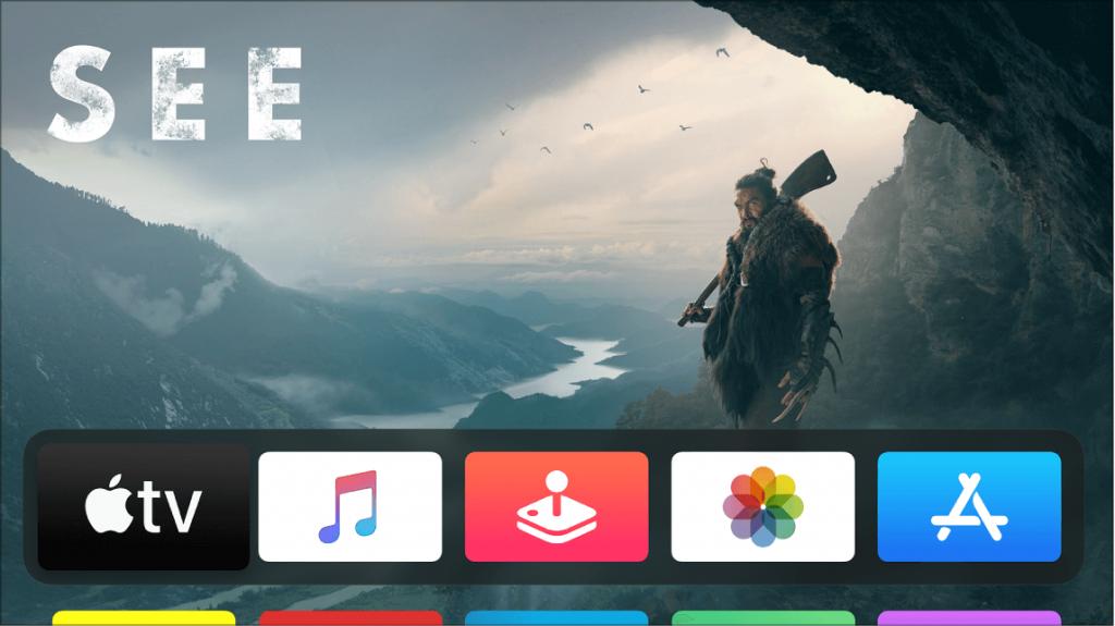 Download E app on Apple TV