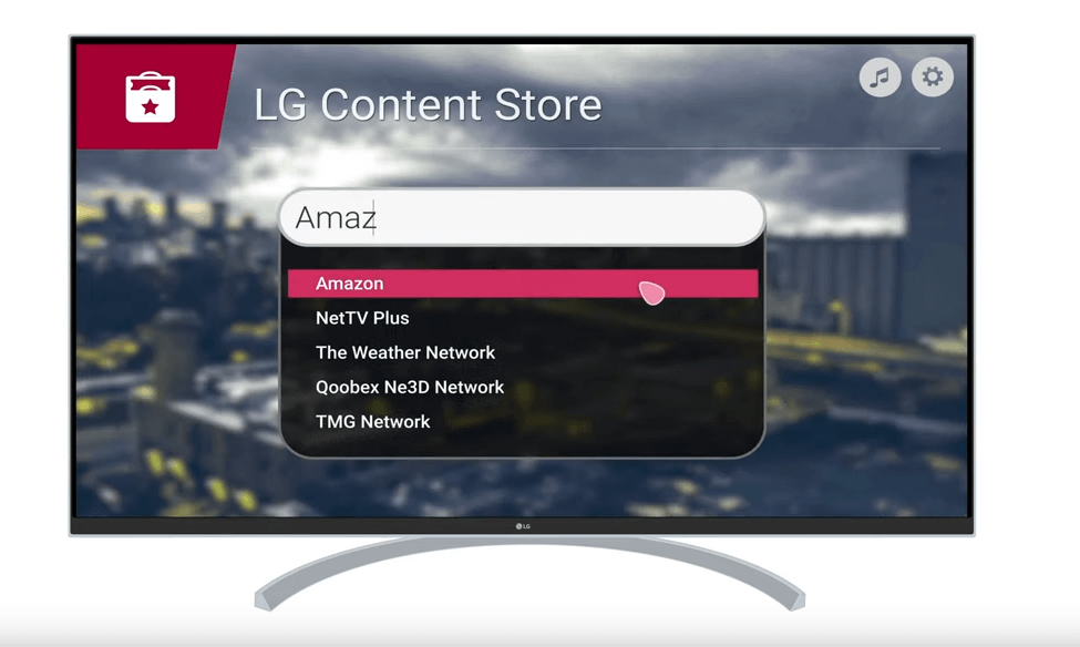 Watch Amazon Prime on LG Smart TV