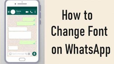 Change Font on WhatsApp