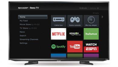Hulu on Sharp Smart TV