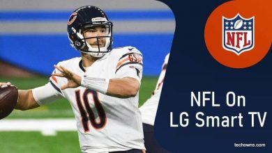 NFL 2020 on LG Smart TV