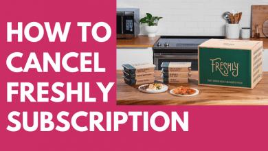 How to Cancel Freshly