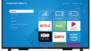Hulu on Element Smart TV