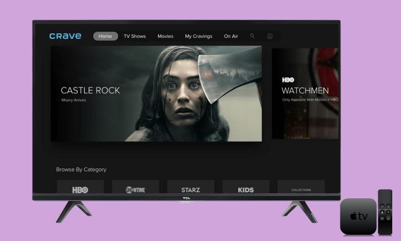 Crave on Apple TV