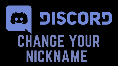 How to Change Nickname on Discord