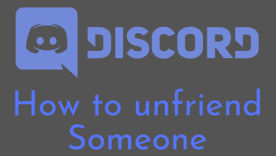 Unfriend Someone on Discord