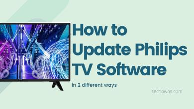 Update Philips TV Software