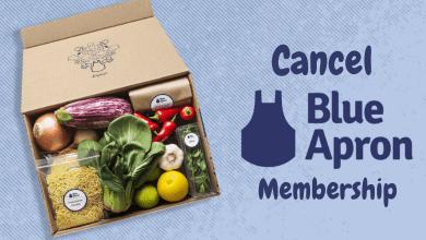 How to Cancel Blue Apron Membership