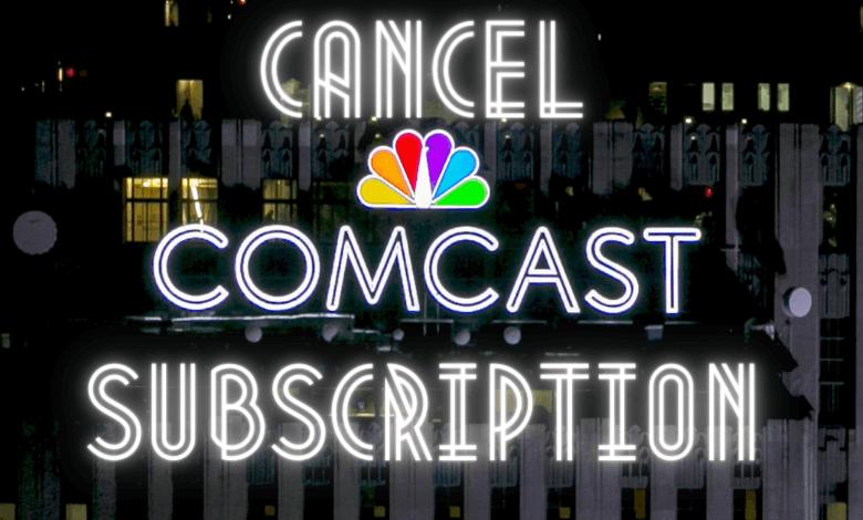 How to Cancel Comcast Service