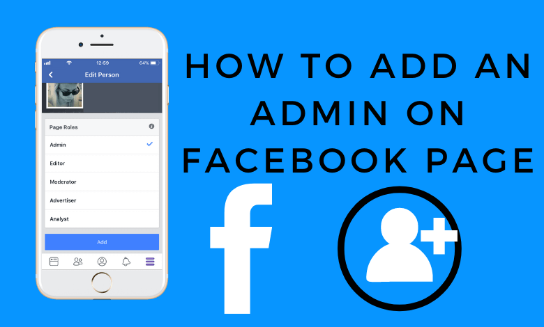 How to Add an Admin on Facebook Page