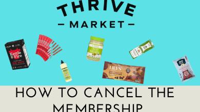 How to Cancel Thrive Market Membership