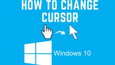 How to Change Cursor on Windows 10