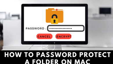 How to Password Protect a Folder on Mac