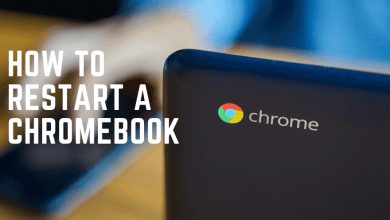 How to Restart a Chromebook